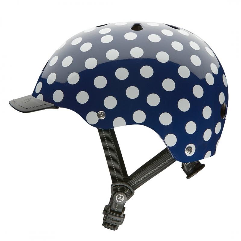 Шлем защитный Nutcase Navy Dots