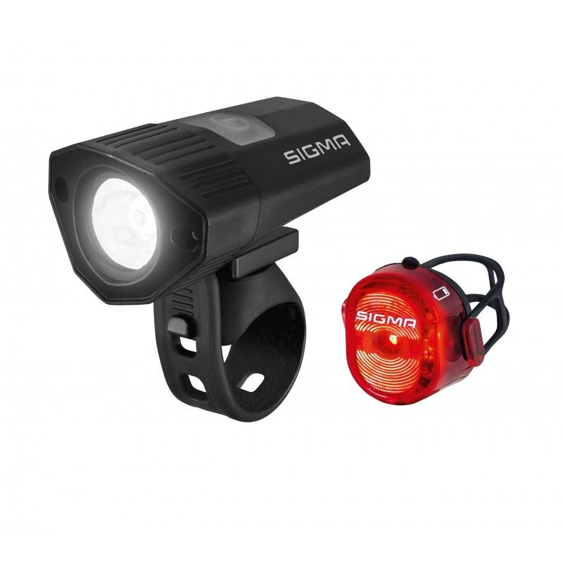 Комплект фонарей Sigma Buster 100 / Nugget II Flash