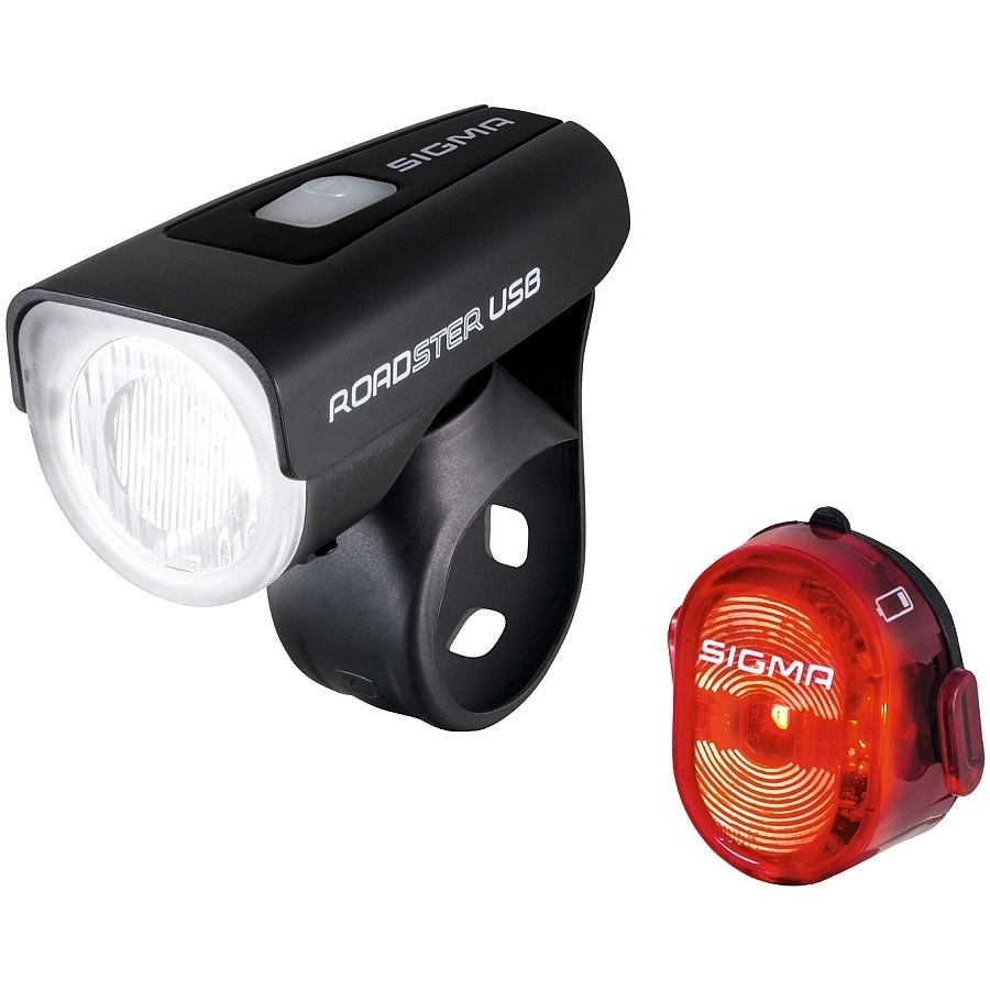 Комплект фонарей Sigma Roadster USB / Nugget II