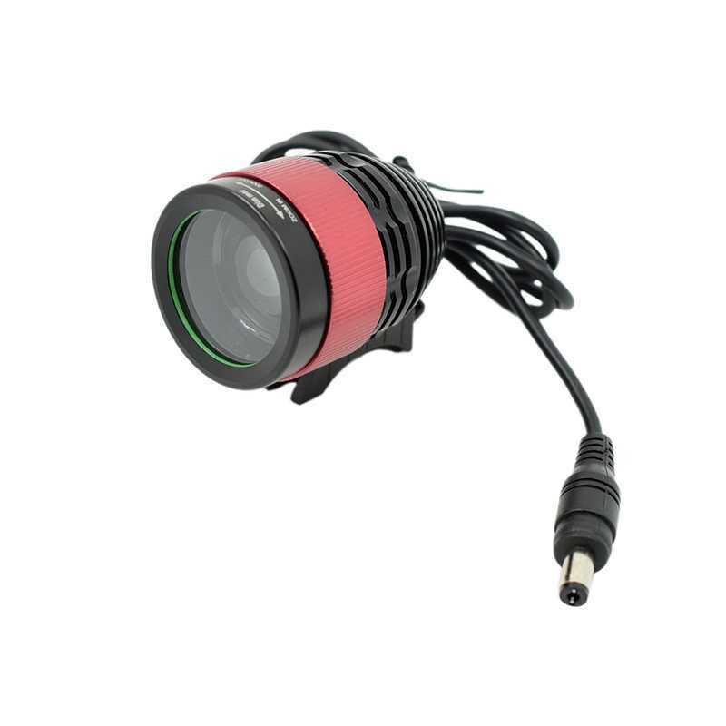 Фонарь передний XM-L T6 2000 lm 9600mAh Focus lens