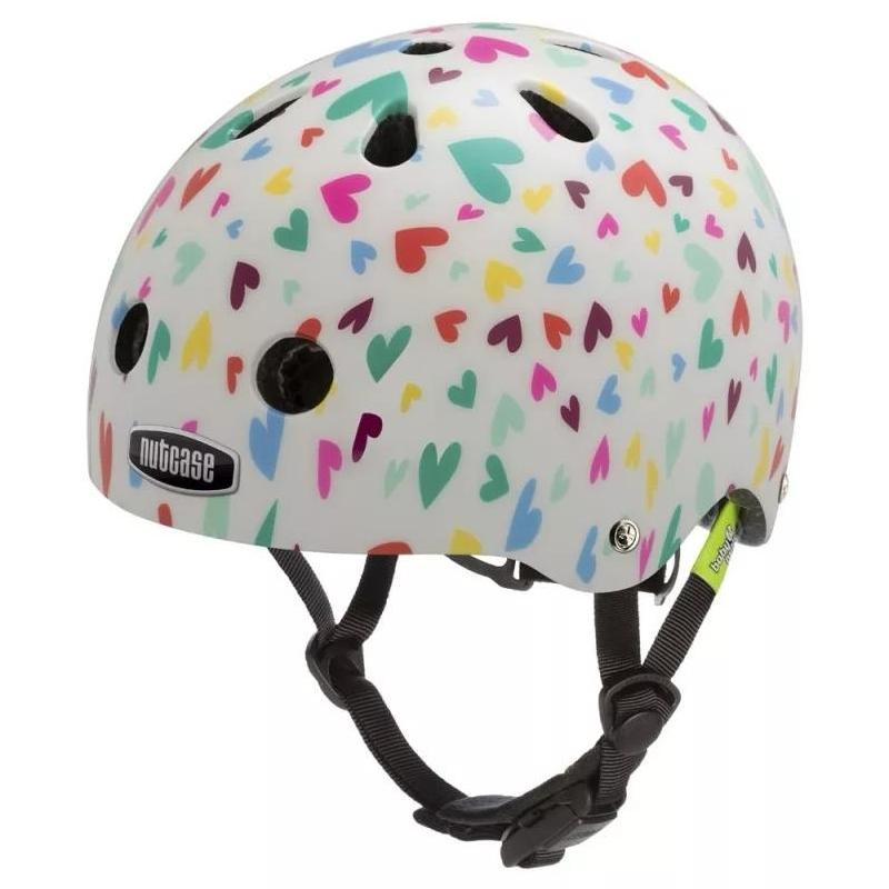 Шлем защитный Nutcase Baby Nutty Happy Hearts