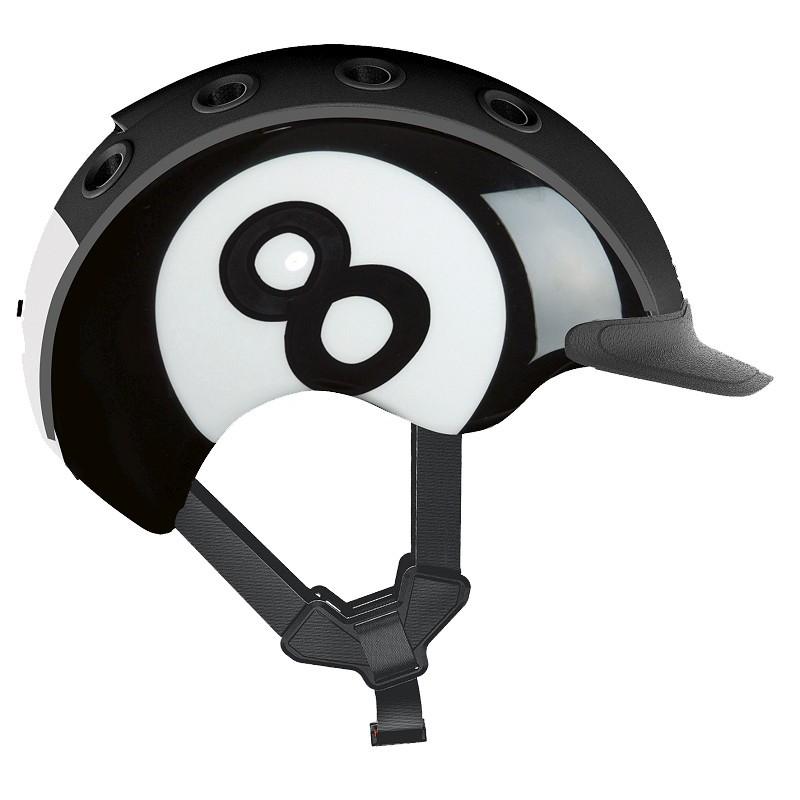 Шлем защитный Casco Mini 2 Eight Ball (04.2327)