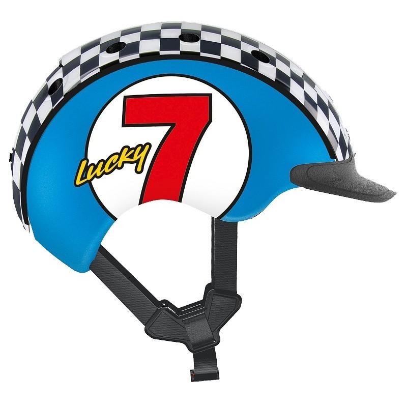 Шлем защитный Casco Mini 2 Lucky 7 Blue (04.2331)