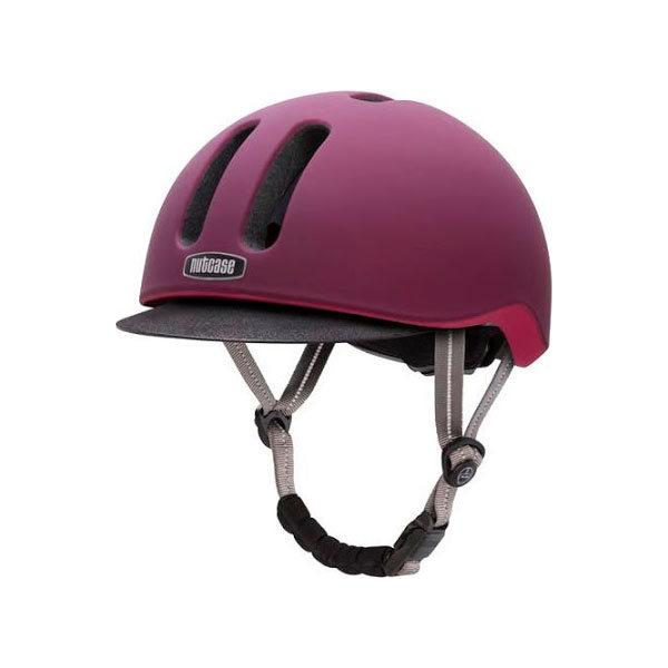 Шлем защитный Nutcase Metroride Garnet Matte