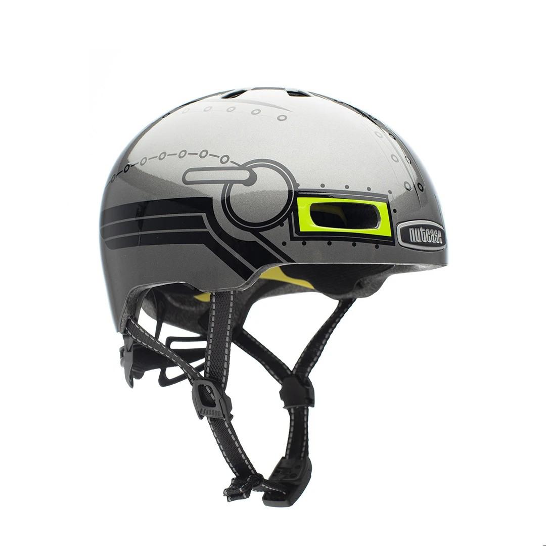 Шлем защитный Nutcase Little Nutty Robo Boy