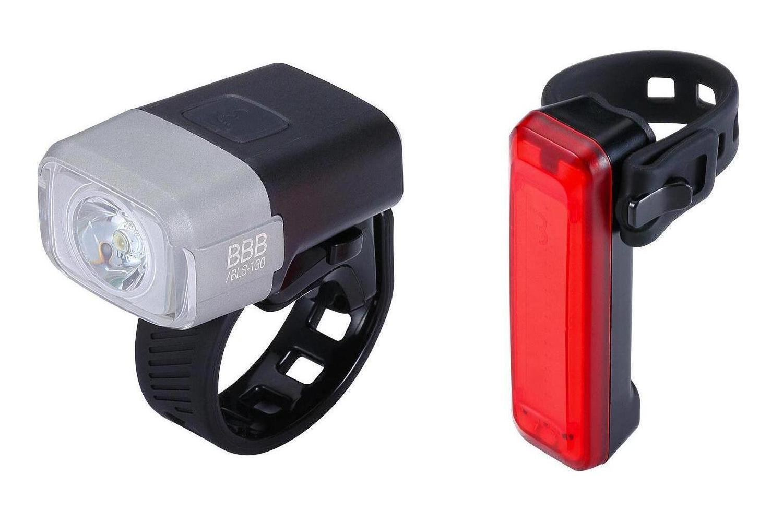 Комплект фонарей BBB Lightset Nanostrike 400 BLS-134