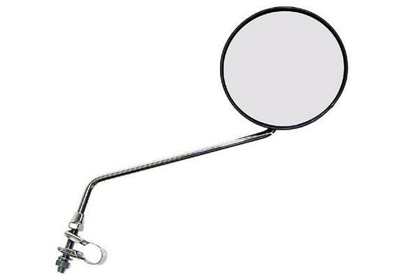 Купить Зеркало Зеркало заднего вида металическое серебристое в интернет магазине велосипедов. Выбрать велосипед. Цены, фото, отзывы