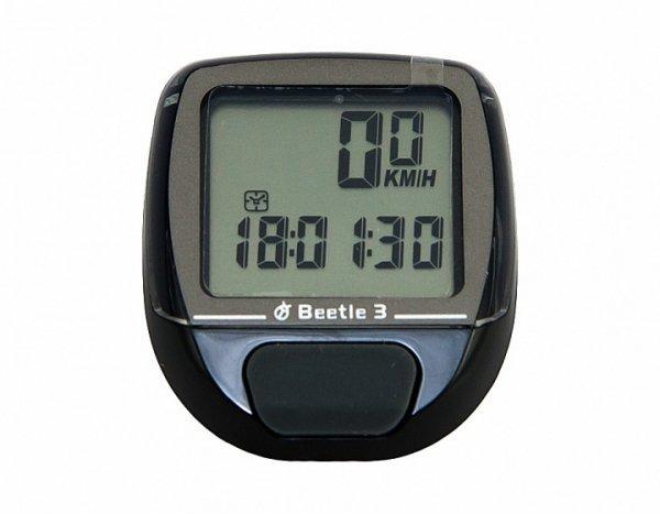 Купить Велокомпьютер BEETLE-3 в интернет магазине велосипедов. Выбрать велосипед. Цены, фото, отзывы