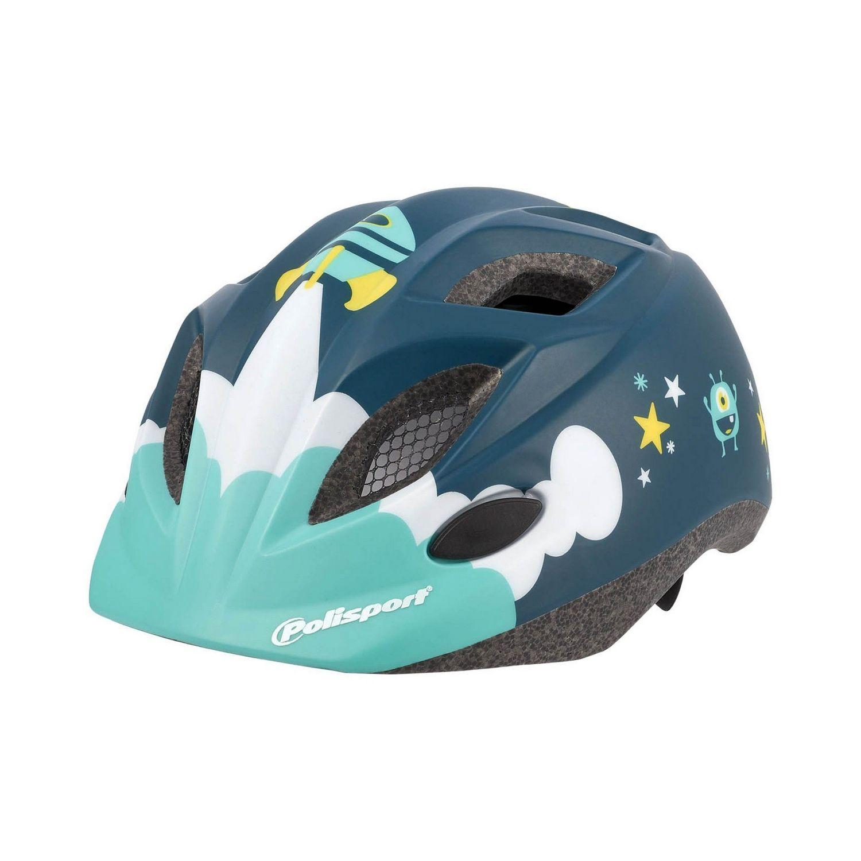 Шлем защитный Polisport XS Kids Spaceship (+фляга)