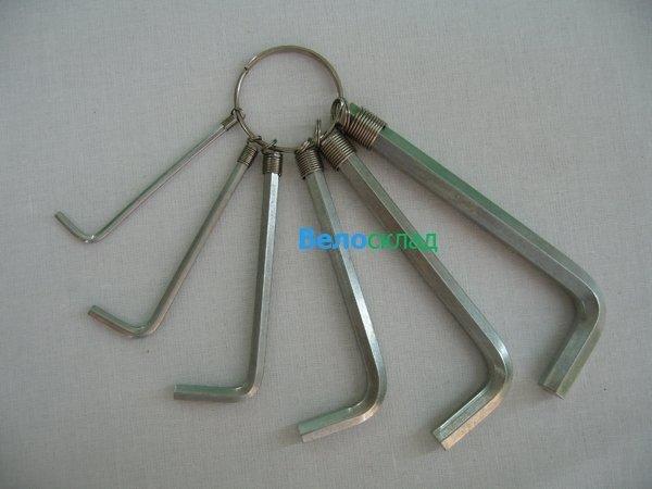 Комплект ключей для велосипеда