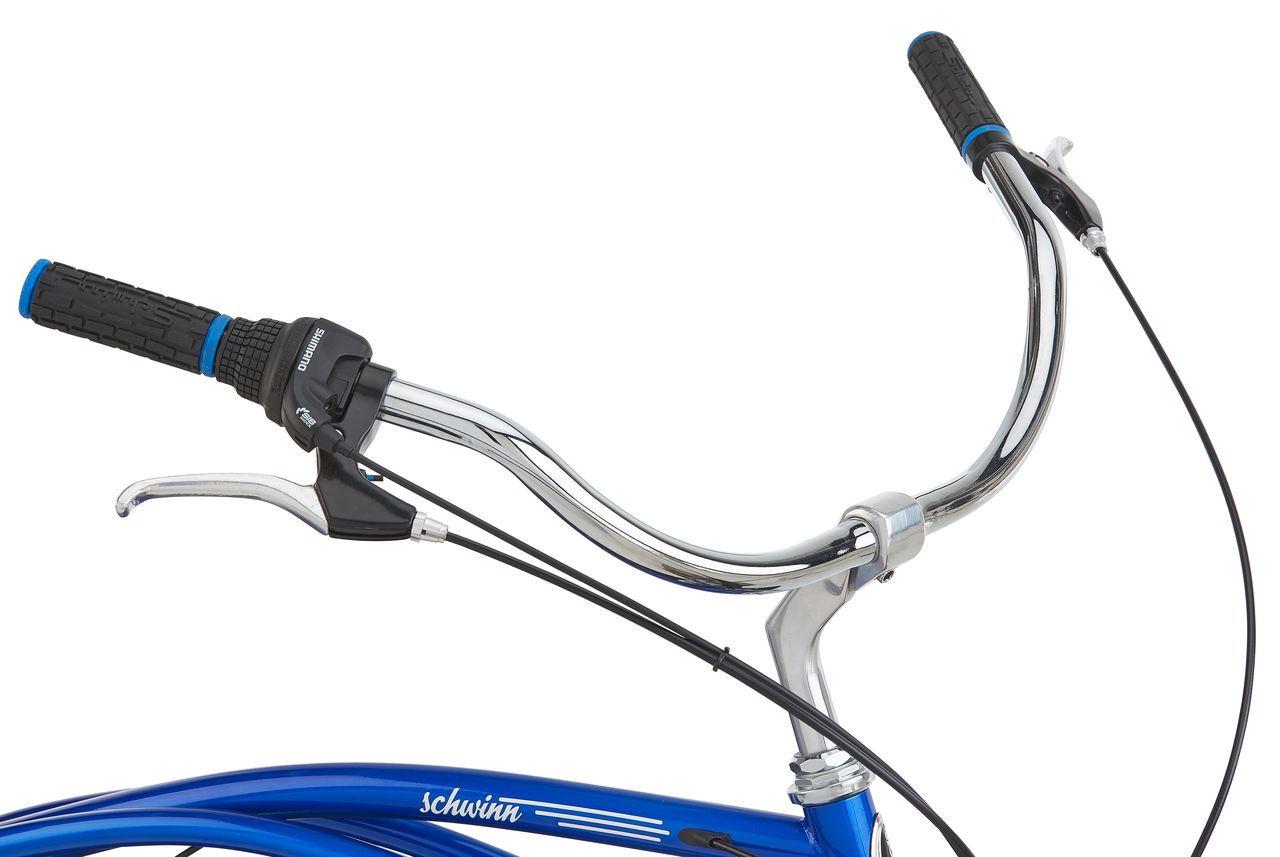 Велошлем детский MET Genio Blue Lightning, синий  (Размер: 52-57 см)