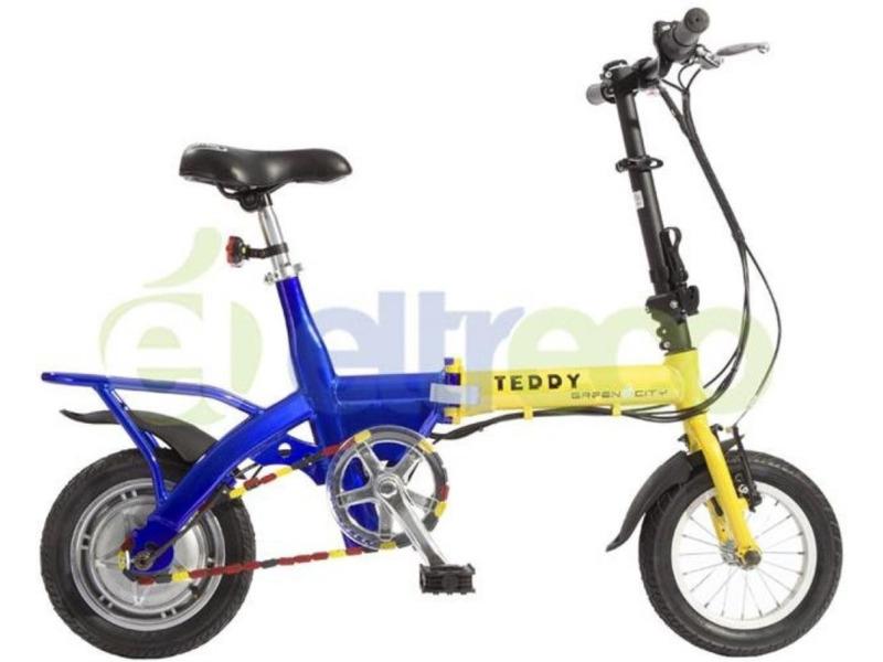 Купить Велосипед Eltreco Green City Teddy (2012) в интернет магазине. Цены, фото, описания, характеристики, отзывы, обзоры