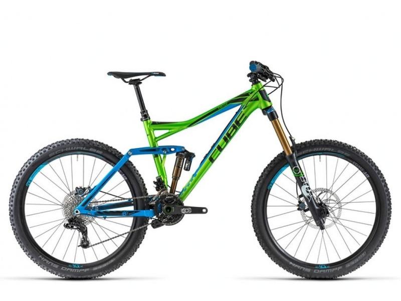 Велосипед Cube Fritzz 180 HPA SL 26 2014