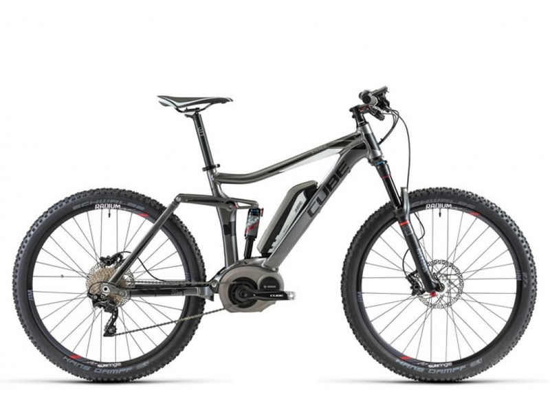 Велосипед Cube Stereo 140 Hybrid 27.5 2014