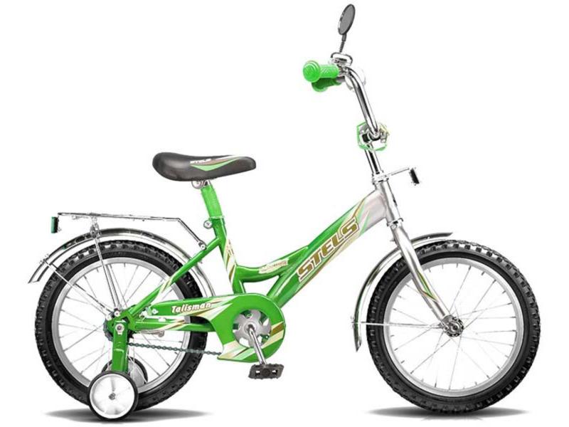 Talisman Black 16 (2014)Велосипед, предназначенный для детей в возрасте от трех до шести лет, без переключения передач. Технические особенности: прочная стальная рама, жесткая вилка, одинарные алюминиевые обода, ножные педальные тормоза, отличающиеся наибольшей простотой в использовании и надежностью. Подходит для обучения и легких прогулок. Диаметр колес - 16 дюймов.<br><br>Рама: Сталь<br>Вилка: Жесткая<br>Тормоза: Задний ножной<br>Обода: Алюминий<br>Цвета выпускаемые: Оранжево-чёрный / Розово-чёрный / Чёрно-красный / Чёрно-синий