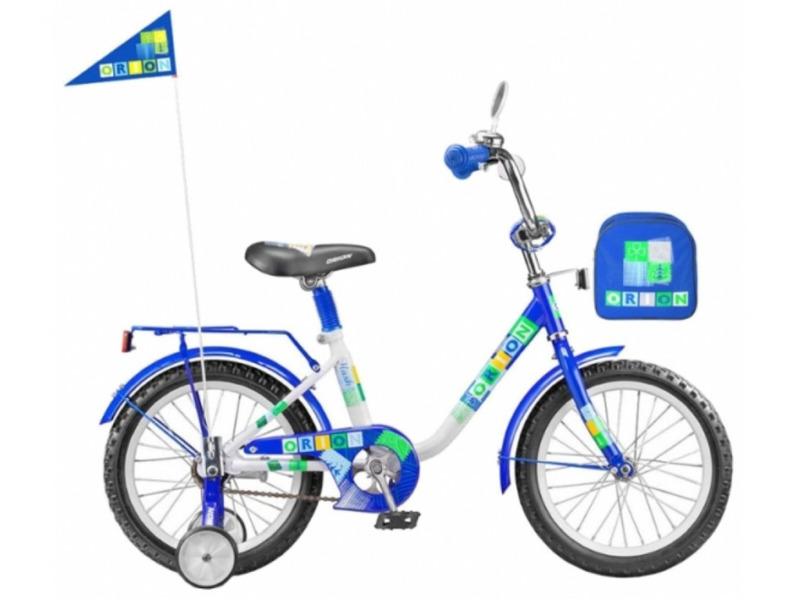 Orion Flash 18 (2014)Велосипед, предназначенный для детей в возрасте от четырех до восьми лет, без переключения передач. Технические особенности: прочная стальная рама, жесткая вилка, одинарные обода, ножные педальные тормоза, отличающиеся наибольшей простотой в использовании и надежностью. Подходит для обучения и легких прогулок. Диаметр колес - 18 дюймов. Вес - 11,8 кг.<br><br>Рама: Сталь<br>Вилка: Сталь<br>Тормоза: Задний ножной<br>Передняя втулка: Сталь<br>Задняя втулка: Сталь<br>Система: Сталь<br>Педали: Пластик<br>Рулевая колонка: Сталь<br>Вынос: Сталь<br>Руль: Сталь<br>Седло: Комфортное, детское<br>Обода: Сталь<br>Покрышки: 18?<br>Цвета выпускаемые: Зелено-белый / Красно-белый / Сине-белый<br>Размеры выпускаемые: Один размер