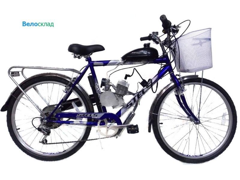 Велосипед Stels Navigator 250 с мотором 2014