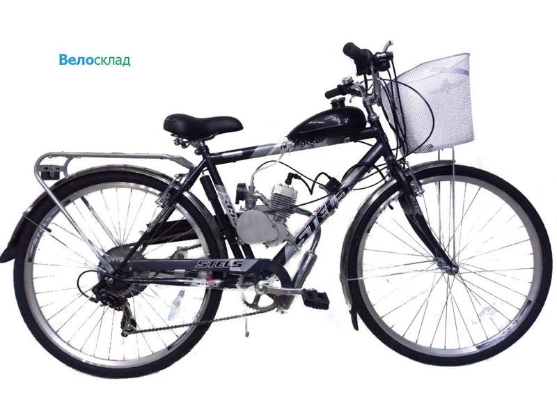 Купить Велосипед Stels Navigator 350 с мотором (2014)