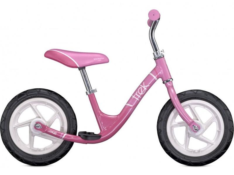 Kickster Girls (2015)Велокат, предназначенный для девочек в возрасте от полутора до трех лет, без переключения передач. Технические особенности: алюминиевая рама Aluminium, жесткая вилка High tensile steel, пластмассовые обода. Подходит для обучения и легких прогулок. Диаметр колес - 12 дюймов. Вес - 3,9 кг.<br><br>Рама: Aluminium<br>Вилка: High-tensile steel<br>Рулевая колонка: Dialed, steering limiter<br>Руль: Dialed one piece, integrated<br>Седло: Dialed, integrated, padded<br>Обода: Moulded plastic<br>Покрышки: Innovia, 12x1.175<br>Цвета выпускаемые: Pedal Pink/Bubblegum Pink<br>Размеры выпускаемые: One size fits most