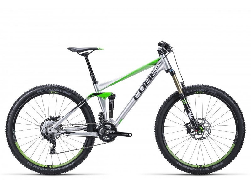 Купить Велосипед Cube Stereo 140 HPA Race 27.5 (2015)