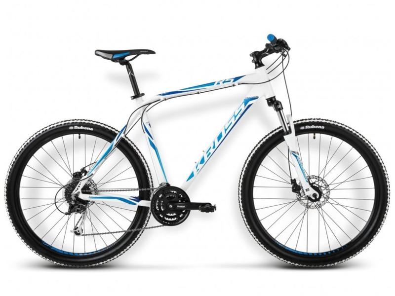 Hexagon R5 (2015)Велосипеды Горные<br>Хардтейл для езды в стиле кросс-кантри с оборудованием предпрофессионального класса Shimano, 24 скорости. Технические особенности: алюминиевая рама Aluminium Performance, амортизационная вилка SR Suntour M3030, двойные обода Kross Disc, дисковые тормоза Shimano Disc BR-M375. Подходит для активной езды по различным дорогам и пересеченной местности. Диаметр колес - 27,5 дюймов. Вес - 14,7 кг.<br><br>Рама: Aluminium Performance<br>Вилка: SR Suntour M3030 (travel 75mm)<br>Манетки: Shimano Tourney ST-TX800, 8 speed<br>Тормоза: Shimano Disc BR-M375 (mechanical, rotor 160/160mm)<br>Передний переключатель: Shimano Tourney FD-TX50<br>Задний переключатель: Shimano Alivio RD-M4000 SGS Shadow<br>Передняя втулка: Joy Tech D041DSE<br>Задняя втулка: Joy Tech D142DSE<br>Система: SR Suntour XCC 42/32/22T<br>Каретка: SR Suntour<br>Кассета: Shimano CS-HG31-8 11-32T<br>Цепь: YBN S8<br>Педали: Alloy/Nylon<br>Рулевая колонка: Feimin H835B<br>Вынос: Kross Active Components (alloy, ahead, 31,8mm)<br>Руль: Kross Active Components (alloy, low rise, 660mm-S; 680mm-M,L,XL, 31,8mm)<br>Подседельный штырь: Kross Active Components (alloy, 27,2mm)<br>Седло: Kross VL-3275<br>Обода: Kross Disc (Alloy, Double Wall)<br>Покрышки: Rubena Ocelot 27,5x2,1<br>Цвета выпускаемые: black / white / red matte, white / green glossy<br>Размеры выпускаемые: S, M, L, XL