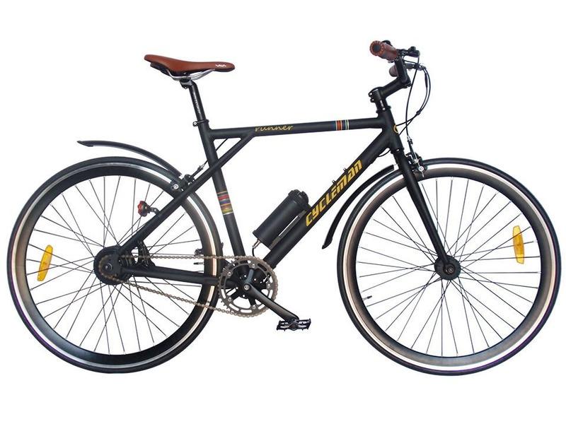 Купить Велосипед Cycleman Runner (2015) в интернет магазине. Цены, фото, описания, характеристики, отзывы, обзоры