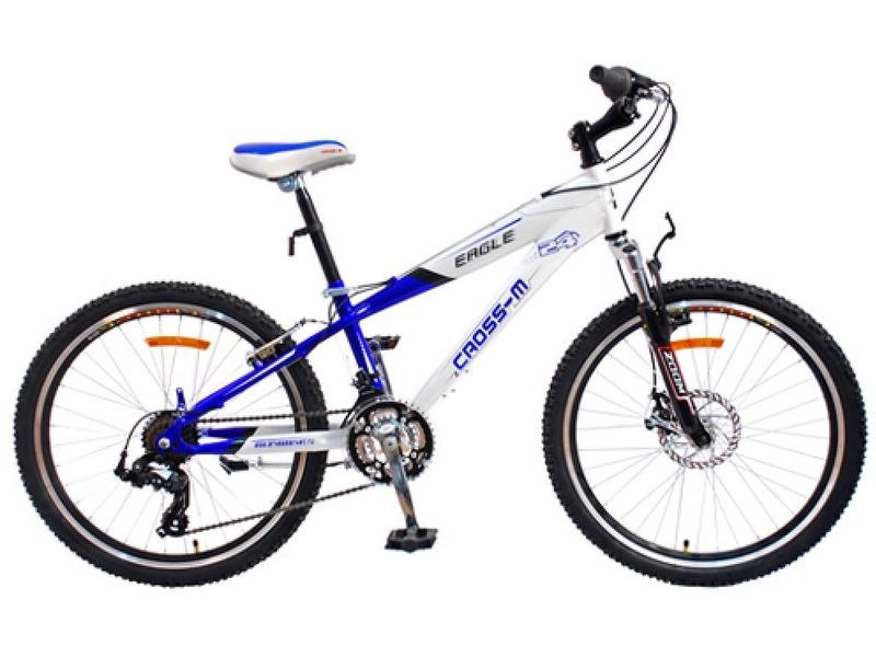 Купить Велосипед Cross-M 24 Eagle (2013) в интернет магазине. Цены, фото, описания, характеристики, отзывы, обзоры