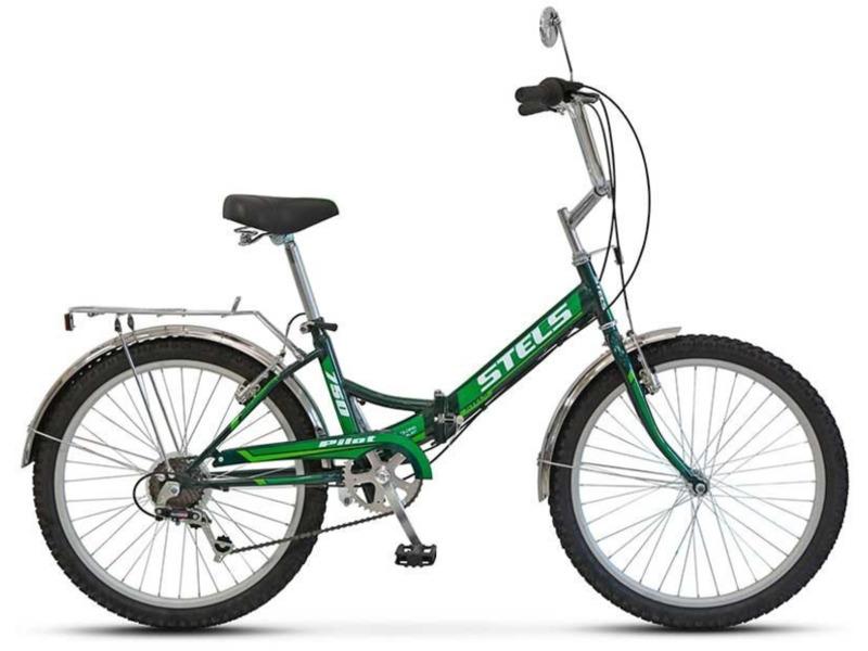 Pilot 750 (2016)Складной прогулочный велосипед с оборудованием начального класса Shimano, 6 скоростей. Технические особенности: прочная стальная рама, жесткая вилка, двойные обода JHT, надежные ободные тормоза Power V-типа. Подходит для прогулочной езды по шоссе и ровным проселочным дорогам. Диаметр колес - 24 дюйма. Вес - 16,5 кг.<br><br>Рама: Сталь<br>Вилка: Стальная, жёсткая<br>Манетки: Shimano Tourney, SL-RS35<br>Тормоза: Power, V-типа<br>Задний переключатель: Shimano Tourney, RD-TY21<br>Передняя втулка: KT, сталь<br>Задняя втулка: KT, сталь<br>Система: Prowheel, сталь, 40T<br>Каретка: Neco, сталь<br>Кассета: Shimano Tourney, MF-TZ20<br>Педали: пластик/сталь<br>Рулевая колонка: Neco, сталь<br>Седло: Cionlli<br>Обода: JHT, алюминий, двойные<br>Покрышки: Chao Yang, 24 x 2.125<br>Цвета выпускаемые: белый/синий, черный/зеленый<br>Размеры выпускаемые: 16
