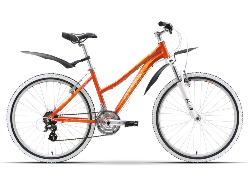 Temper Lady (2016)Женский горный велосипед с оборудованием любительского класса Shimano, 21 скорость. Технические особенности: алюминиевая рама, амортизационная вилка SR Suntour SF14-M3030, двойные обода Weinmann XTB26, надежные ободные тормоза Promax V-brake. Подходит для прогулочного катания по различным дорогам и пересеченной местности. Диаметр колес - 26 дюймов.<br><br>Рама: AL 6061 Lady Sport<br>Вилка: SR Suntour SF14-M3030 P-26 63mm<br>Манетки: Shimano ST-EF51<br>Тормоза: Promax V-brake<br>Передний переключатель: Shimano Tourney TY<br>Задний переключатель: Shimano Altus<br>Передняя втулка: Joytech alloy<br>Задняя втулка: Joytech alloy<br>Система: Suntour 42/32/22<br>Кассета: Shimano MF-TZ21 14-28T<br>Цепь: KMC Z51<br>Педали: Пластик<br>Седло: Stark<br>Обода: Weinmann XTB26<br>Покрышки: Kenda 26x1,95<br>Цвета выпускаемые: красный/оранжевый<br>Размеры выпускаемые: 14.5, 16, 18?