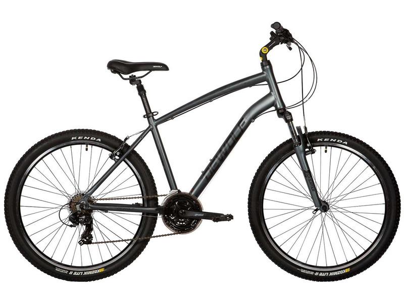 Perfect 2 (2017)Комфортабельный велосипед начального уровня с навесным оборудованием Shimano, 21 скорость. Технические особенности: легкая алюминиевая рама, амортизационная вилка SR Suntour M3030, двойные алюминиевые обода, надежные ободные тормоза APSE V-brake, амортизированный подседельный штырь, регулируемый вынос. Подходит для комфортного катания по паркам, городским улицам и по маршрутам средней сложности в лесу. Диаметр колес - 26 дюймов.<br><br>Рама: Алюминий<br>Вилка: SR Suntour M3030<br>Манетки: Shimano ST-EF51 3x7<br>Тормоза: APSE V-brake<br>Передний переключатель: Shimano Tourney FD-TX50<br>Задний переключатель: Shimano Tourney RD-TY300<br>Передняя втулка: KT-A15FQR<br>Задняя втулка: KT-A12RQR<br>Система: Prowheel 42/34/24T, w/170mm Alloy Black Crank<br>Каретка: VP-BC73 Cartridge Type, 68/120mm<br>Кассета: Shimano Tourney MF-TZ21, 7-speed 14-28T<br>Цепь: KMC Z51<br>Педали: VP-897 BMX Type, 9/16? Boron Axle, One Piece PP Black Body, w/Reflectors<br>Вынос: Adjust stem 25.4, ext: 100, L:150<br>Руль: Alloy 25.4х22.2х660mm, H=19mm<br>Подседельный штырь: 27.2x350mm, Alloy, Sand Blasted Black Tube with ED Black Head Clamp , W/promax Logo White<br>Седло: Vader VD1151C-01<br>Обода: 26x1.5?, 14Gx36H, Alloy, Black Anodized with CNC Sidewall, Double Wall, A/V<br>Спицы: DT Swiss 72 Pieces, Steel UCP w/Brass Silver Nipples<br>Покрышки: Kenda K942 26x2.0?<br>Цвета выпускаемые: серый<br>Размеры выпускаемые: 18, 20?