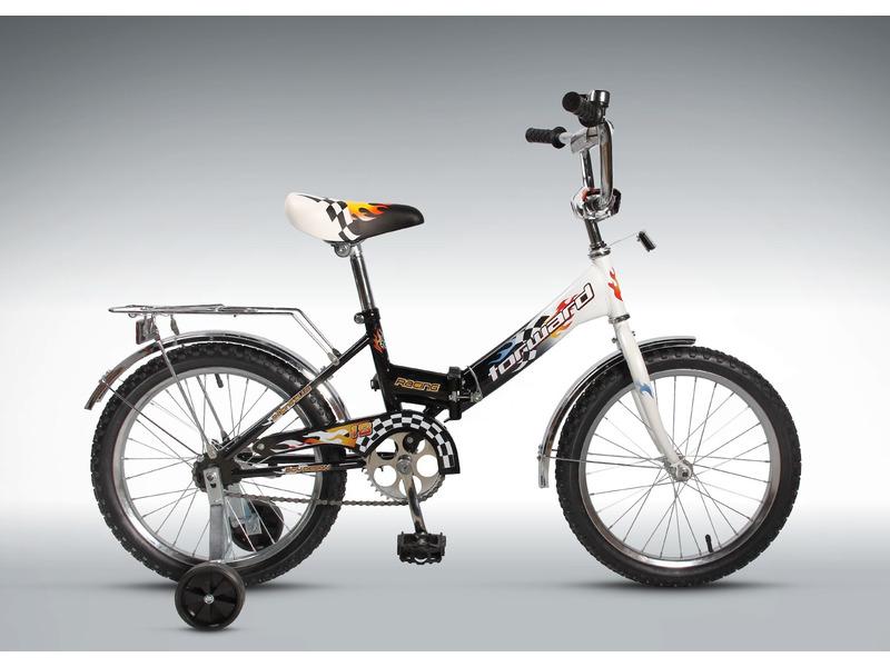 Racing 18 Compact (2017)Велосипед, предназначенный для детей в возрасте от четырех до восьми лет, без переключения передач. Технические особенности: складная стальная рама, жесткая вилка, одинарные обода, ножные педальные тормоза, защита цепи, стальные крылья, багажник с зажимом, съемные боковые колеса, мягкая накладка на руле, звонок. Подходит для обучения и прогулочного катания в городских условиях. Диаметр колес - 20 дюймов. Вес - 12,5 кг.<br><br>Рама: Сталь, складная<br>Вилка: Жесткая стальная<br>Тормоза: Ножной тормоз<br>Передняя втулка: Сталь<br>Задняя втулка: Сталь<br>Система: Стальная<br>Педали: Пластик<br>Рулевая колонка: Сталь<br>Вынос: Сталь<br>Руль: Сталь<br>Подседельный штырь: Сталь<br>Седло: Comfort Kid<br>Обода: Стальные одностеночные<br>Покрышки: 18?<br>Цвета выпускаемые: черный, красный<br>Размеры выпускаемые: Один размер