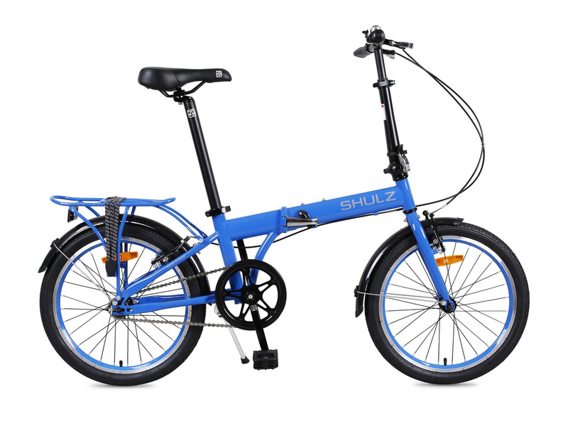 Max (2017)Складной прогулочный велосипед без переключения передач. Технические особенности: прочная стальная рама, жесткая вилка, двойные алюминиевая обода, надежные ободные тормоза, подножка, багажник, крылья, звонок, катафоты, светоотражатели. Подходит для прогулочного катания в городских условиях и по несложным маршрутам в лесу. Диаметр колес - 20 дюймов. Вес - 14,3 кг.<br><br>Рама: Сталь<br>Вилка: Сталь Hi-Ten, без амортизатора<br>Тормоза: Ободные<br>Передняя втулка: Алюминиевая, 74 мм<br>Задняя втулка: Алюминиевая, 114 мм, драйвер 16 зубьев<br>Система: Звезда 48 зубьев, шатуны 170 мм<br>Каретка: Neco B910 картридж, закрытые промышленные подшипники, размер 68/118 мм<br>Педали: Складные, ударопрочный пластик<br>Рулевая колонка: Neco H841 стальная неинтегрированная<br>Вынос: Складной, стальной, 270 мм<br>Подседельный штырь: Алюминиевый, длина 580 мм, диаметр 33,9 мм<br>Седло: 270?160 мм, кожезаменитель, мягкий упругий наполнитель<br>Обода: Двойные фрезерованные алюминиевые, 28 спиц<br>Покрышки: Wanda 20х1,95?, камера с автониппелем<br>Цвета выпускаемые: белый, синий, черный, красный<br>Размеры выпускаемые: Один размер на рост 150–200 см