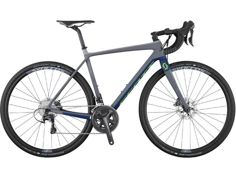 Купить Велосипед Scott Addict Gravel 20 disc (2017) в интернет магазине велосипедов. Выбрать велосипед. Цены, фото, отзывы