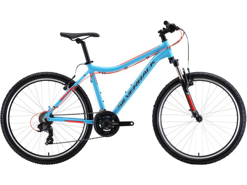 "Stride 26 SLD (2018)Велосипеды Женские<br>Женский горный велосипед с оборудованием начального класса Shimano, 21 скорость. Технические особенности: алюминиевая рама 6061 Aluminium, амортизационная вилка Zoom 389E-MLO, двойные алюминиевые обода, надежные ободные тормоза Promax SBV-117. Подходит для прогулочного катания по различным дорогам и пересеченной местности. Диаметр колес - 26 дюймов. Вес - 14,2 кг.<br><br>Рама: Lightweight, 6061 Aluminium, 1-1/8"" headtube, 135mm QR Dropouts, V-brake and Disc brake mounts, fender and rack mounts<br>Вилка: Zoom 389E-MLO, 80mm Travel, 1-1/8"" Steerer, Mechanical Lockout, Preload adjuster, 9mm Dropout, V- Brake<br>Манетки: Shimano ST-EF41, 3x7 EZ-Fire, Black<br>Тормоза: Promax SBV-117, Silverback Alloy Melt-Forged, V-Brake, Plastic base, w/O Logo<br>Передний переключатель: Shimano FD-TY700, Top Swing Dual Pull, Triple, Clamp-on 34.9mm, Black<br>Задний переключатель: Shimano Tourney, RD-TY300, 7 Speed, Black<br>Передняя втулка: Alloy, 32 Hole, Quick Release System<br>Задняя втулка: Alloy, 32 Hole, Quick Release System<br>Система: Shimano FC-TY301, 42/34/24T, Chainguide, L: 175mm All Sizes, Black/Silver<br>Каретка: VP Сталь, Square taper<br>Кассета: Shimano MF-TZ21, 7 Speed, 14-28T, Brown/Black<br>Цепь: PYC P7002<br>Рулевая колонка: Neco H852 Steel, 1-1/8"", Black<br>Вынос: XS/S/M: 70mm; L/XL: 90mm; , 7 deg x Dia 31.8mm, Black<br>Руль: W: 680mm; Back Sweep: 9 deg x Dia 31.8mm; 6061 Butted Oversized<br>Подседельный штырь: Dia 30,9mm x 350mm; Black<br>Седло: Black, Steel Rails<br>Обода: Alloy double wall 32H<br>Спицы: 14G stainless<br>Покрышки: Kenda K922, 26 x 1.95, Black<br>Цвета выпускаемые: серый<br>Размеры выпускаемые: 16, 18"""