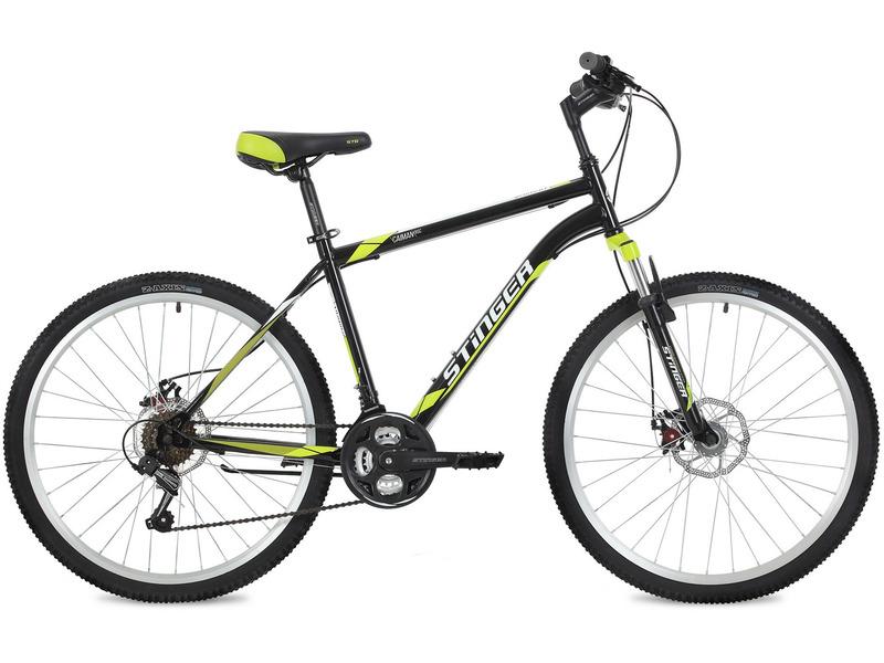 Велосипед Stinger Caiman D 26 (2018)  - купить со скидкой