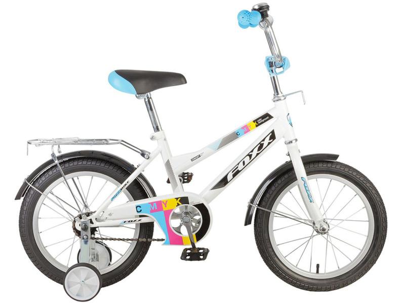 Купить Велосипед Foxx CMYK 16 (2017) в интернет магазине. Цены, фото, описания, характеристики, отзывы, обзоры