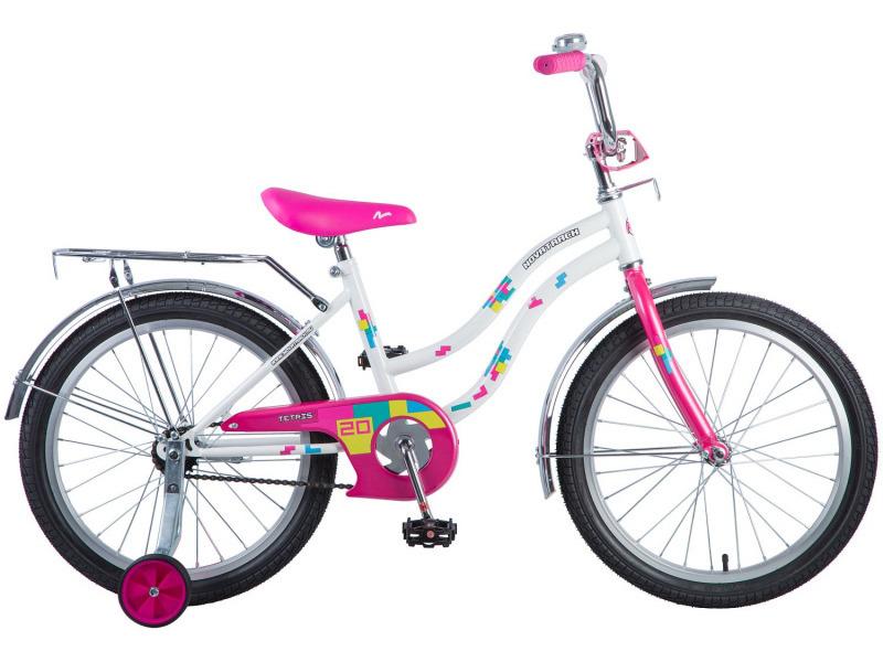 Купить Велосипед Novatrack Tetris 20 (2018) в интернет магазине. Цены, фото, описания, характеристики, отзывы, обзоры