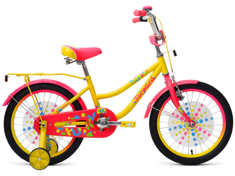 Велосипед Forward Funky 18 (2019)  - купить со скидкой