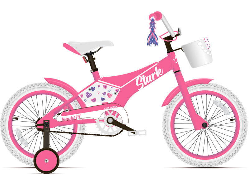 Велосипед Stark Tanuki 14 Girl 2020