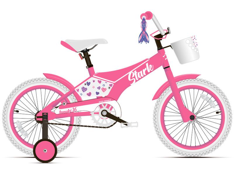 Велосипед Stark Tanuki 16 Girl 2020