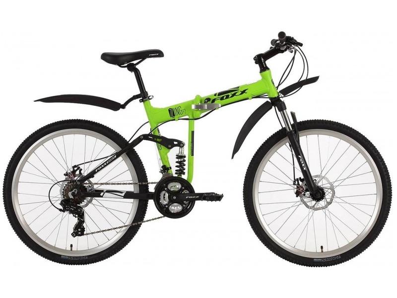 Купить Велосипед Foxx Zing F2 D (2018) в интернет магазине. Цены, фото, описания, характеристики, отзывы, обзоры