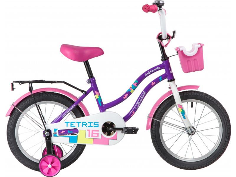 Купить Велосипед Novatrack Tetris 16 (2020) в интернет магазине. Цены, фото, описания, характеристики, отзывы, обзоры