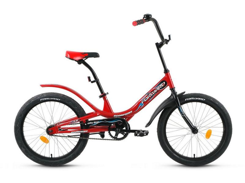 Велосипеды Детские Forward Scorpions 1.0 20 (2020) фото