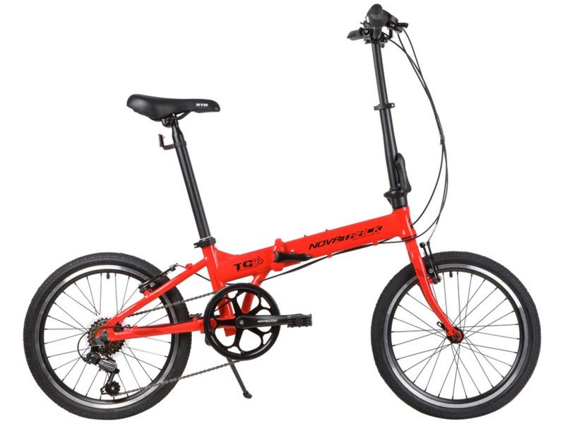 Велосипеды Складные Novatrack TG-20 New 6-spd (2020) фото