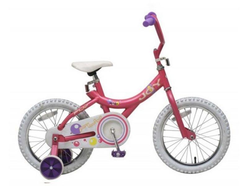 Купить Велосипед Fly Joy 16 Girl (2008) в интернет магазине. Цены, фото, описания, характеристики, отзывы, обзоры