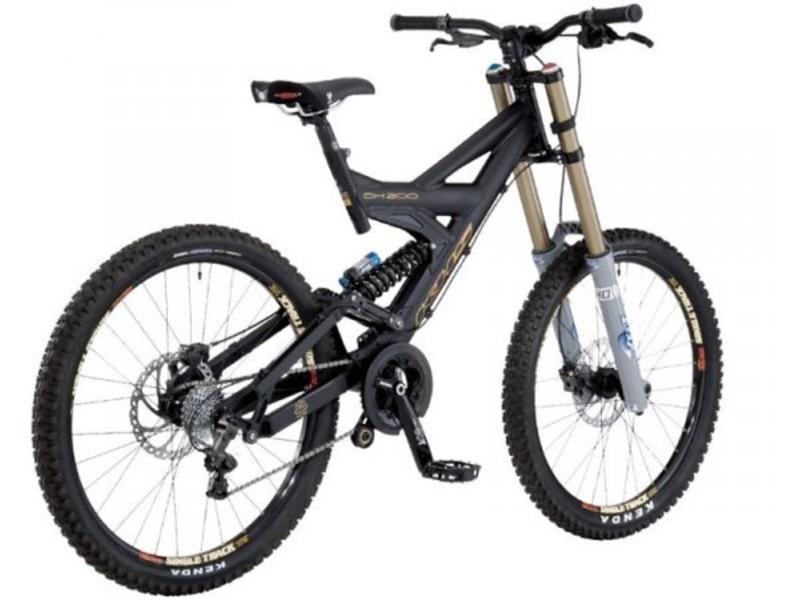 Велосипед KHS DH-200 2008