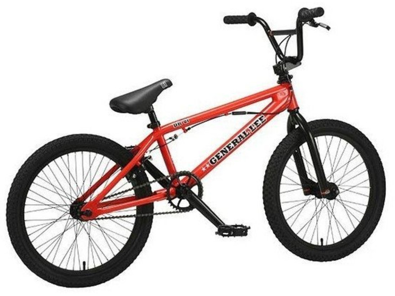 Купить Велосипед DK General Lee 20 (2009) в интернет магазине. Цены, фото, описания, характеристики, отзывы, обзоры