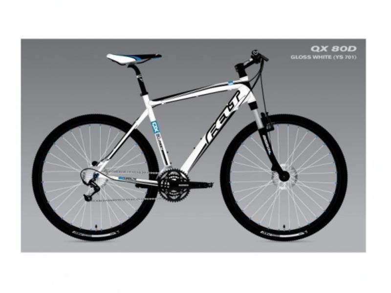 Купить Велосипед Felt QX80-D (2011) в интернет магазине. Цены, фото, описания, характеристики, отзывы, обзоры