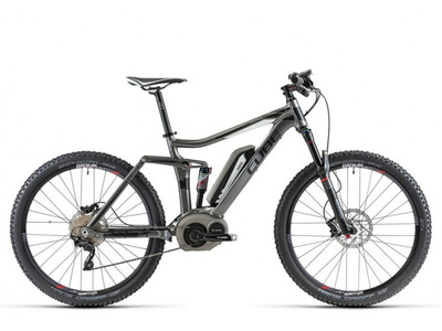 Велосипед Cube Stereo 140 Hybrid 27.5 (2014)