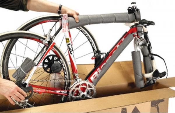 Самостоятельная сборка велосипеда из коробки